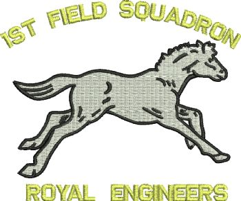 1st Field Sqn Embroidered Polo Shirt